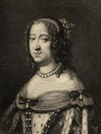 Anne of Austria (1601-66) (litho) Fine Art Print by Andre Leon Larue