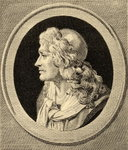 Moliere (1622-73) (litho) Wall Art & Canvas Prints by Thomas Cross