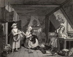 The Distressed Poet, from 'The Works of William Hogarth', published 1833 Fine Art Print by William Hogarth