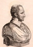 Paolo Veronese, illustration from '75 Portraits Of Celebrated Painters From Authentic Originals', published in London, 1817 Fine Art Print by Pietro Perugino