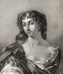 Anne Wharton, illustration from 'A catalogue of Royal and Noble Authors, Volume III', published in 1806 Fine Art Print by English School