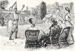 Lawn Tennis in 1883, engraved from the original drawing in Punch Magazine, from 'The Century Illustrated Monthly Magazine', May to October, 1883 Fine Art Print by English Photographer