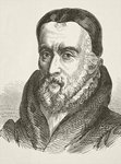 William Tyndale, from 'The National and Domestic History of England' by William Hickman Smith Aubrey