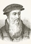 John Knox, from 'The National and Domestic History of England' by William Hickman Smith Aubrey Fine Art Print by English School