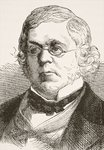 William Makepeace Thackeray, from 'The National and Domestic History of England' by William Hickman Smith Aubrey Fine Art Print by English School