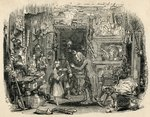 The Child's Return, from 'The Old Curiosity Shop' by Charles Dickens (engraving) Fine Art Print by Arthur A. Dixon