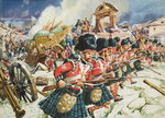 Defence of Corunna Fine Art Print by Samuel Wale