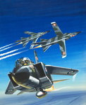 Aircraft that Change their Shape Fine Art Print by Wilf Hardy