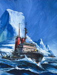 Shall We Drink Icebergs? Fine Art Print by Wilf Hardy