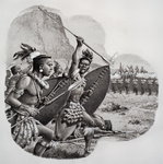 Zulus Fine Art Print by James Edwin McConnell
