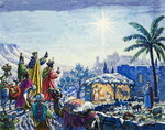 Three Wise Men Fine Art Print by El Greco