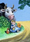 Town Mouse and Country Mouse Wall Art & Canvas Prints by Philip Mendoza