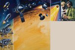 Martian space probe Wall Art & Canvas Prints by Wilf Hardy