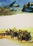 Holland and Belgium in the Second World War Fine Art Print by English School