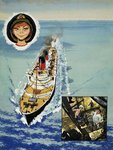 Wee Willie Winkie goes to sea Wall Art & Canvas Prints by John S. Smith