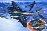 Civilian flights during WW2 Fine Art Print by Frank Bellamy