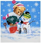 Teddy Bear Wall Art & Canvas Prints by English School