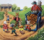 Brer Rabbit Fine Art Print by Sarah Thompson-Engels
