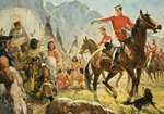Mounties (?) and Indians Postcards, Greetings Cards, Art Prints, Canvas, Framed Pictures, T-shirts & Wall Art by Angus McBride
