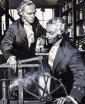 James Watt: The Man Who Harnessed Steam Fine Art Print by Mark Ellidge