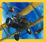 Planes from the Past: The Bristol F2B Fighter Fine Art Print by English School