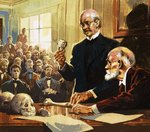 Piltdown Man Poster Art Print by English School