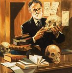 Piltdown Man Postcards, Greetings Cards, Art Prints, Canvas, Framed Pictures & Wall Art by English School