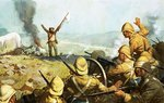 Boer surrendering Fine Art Print by Richard Caton Woodville