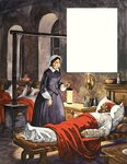 When They Were Young: Florence Nightingale Fine Art Print by Clive Uptton