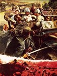 Assassination -- how two bullets killed ten million men Wall Art & Canvas Prints by Clive Uptton
