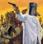Ned Kelly, the Australian Robin Hood Fine Art Print by Clive Uptton