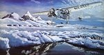 Commander Richard Byrd and the South Pole Fine Art Print by Paul Powis