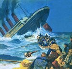 Sinking of the Titanic Wall Art & Canvas Prints by John S. Smith