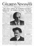 The Bad Apple in Europe's Basket, front page of 'The Children's Newspaper', January 1920 (newsprint) Postcards, Greetings Cards, Art Prints, Canvas, Framed Pictures, T-shirts & Wall Art by Russian Photographer