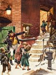 Working children of Victorian Britain Wall Art & Canvas Prints by Peter Jackson