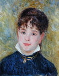 Head of a Young Woman Fine Art Print by Edouard Manet