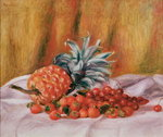 Strawberries and Pineapple, c.1895 Fine Art Print by Pierre-Auguste Renoir