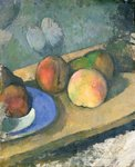 The Blue Plate, 1879-82 Fine Art Print by Paul Cezanne