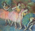 Four Dancers, 1903 Wall Art & Canvas Prints by Edgar Degas