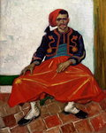The Zouave, 1888 Fine Art Print by Vincent van Gogh