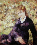 Summer, 1875 Poster Art Print by Pierre-Auguste Renoir