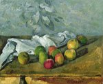 Still Life Fine Art Print by Paul Cezanne