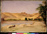 View on the Nile, c.1879 Fine Art Print by Stanislas Victor Edouard Lepine
