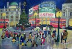 Piccadilly Fine Art Print by Anonymous