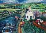 St Catherines Lock Poster Art Print by Lisa Graa Jensen