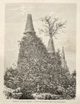 Ruins of Wat Sisampet Fine Art Print by Anonymous
