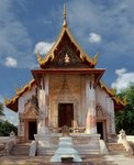 The Ubosot of Wat Salapoon Fine Art Print by Anonymous