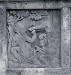 One of a series of reliefs depicting the Ramakien Fine Art Print by Sri Lankan School