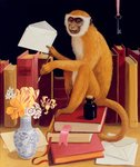 Monkey Business, 2006 Wall Art & Canvas Prints by John Lidzey