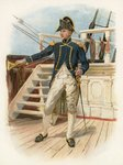 Post Captain, 18th century Postcards, Greetings Cards, Art Prints, Canvas, Framed Pictures, T-shirts & Wall Art by Thomas Rowlandson